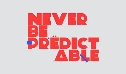 Never be predictable by SC-3