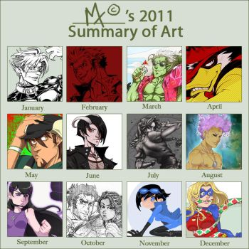 2011 Art Summary MT by m-t-copyright