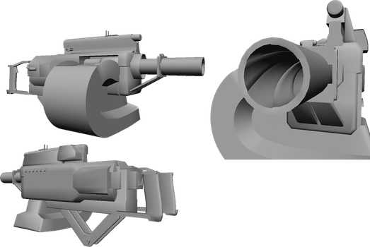 M460 Automatic Grenade Launcher by Labj
