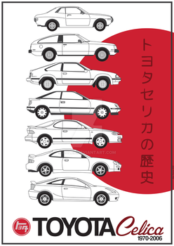 Toyota Celica History by Axle9