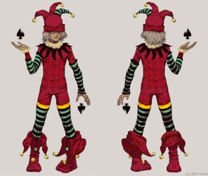 Felicien the Jester by albyon