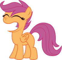 Scootaloo by JoeMasterPencil