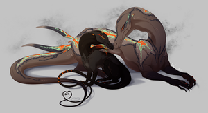 Malika: Salazzle and Salandit