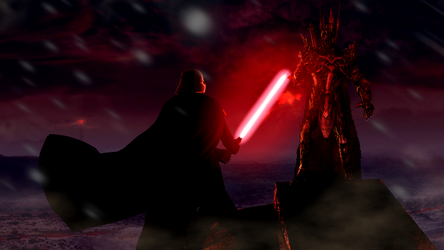 When Dark Lords collide by guywiththesuitcase