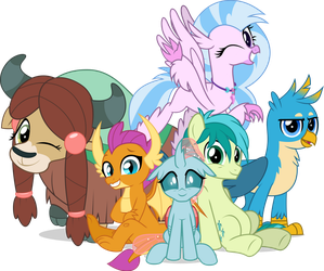 MLP Vector - The Young Six by jhayarr23