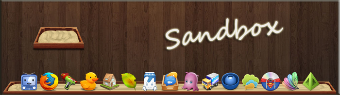 Sandbox for Rocketdock by 7enMalox