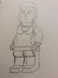 LEGO Minifigures Giantess Edition #39: Allison by doctorwhooves253