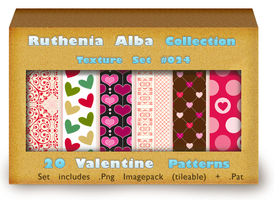 Txt Set 24: Valentine Patterns by Ruthenia-Alba
