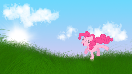 Pinkie Pie Wallpaper by MoonGazerThePony