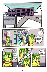 Winter in Equestria Page 7.. by eunos