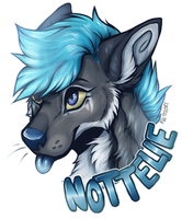 Badge for Nottelie by ma-svart