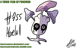 A third year of pokemon: #755 Morelull