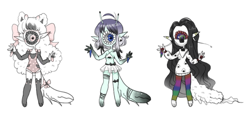 Xynslug Adopts: OPEN: ONIGIRI THEMED by SLUGOIIS