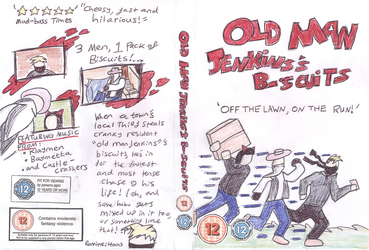 Old Man Jenkins's Biscuits DVD Case (pencil) by Meleemario364