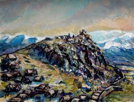 Edoras by Art-deWhill