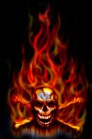Skull Fire - Updated by hardart-kustoms