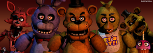 The Five Nights At Freddy's 1 [Characters] by HiAtom