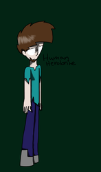 Human Herobrine by LoveMe2346
