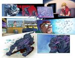 Max Steel Vol.2 pages  6-7 by papillonstudio