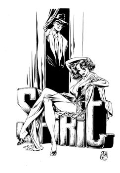 pin up 'the Spirit' in ink by MinckOosterveer