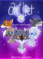 Amulet - [Comic Collab] - Cover page by melo3001