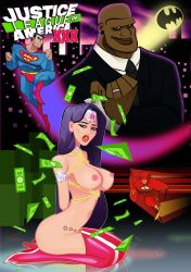Comic book cover Justice League of Amarican XXX by sexfire