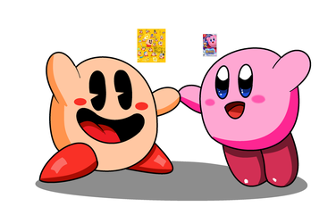30's Kirby and Modern Kirby by Labbie157