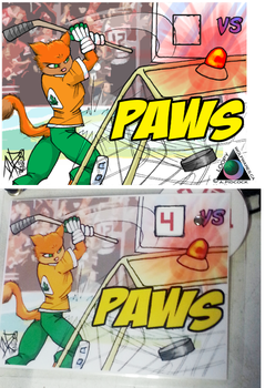 Paws Action Badge by LoopyWolf