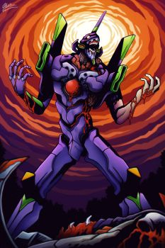 Unit 01- Berserk by MacGreen