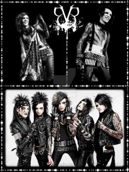 Black Veil Brides Background by GD0578