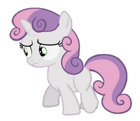 Sweetie Belle (Worried Thoughts) by Awsomejosh13