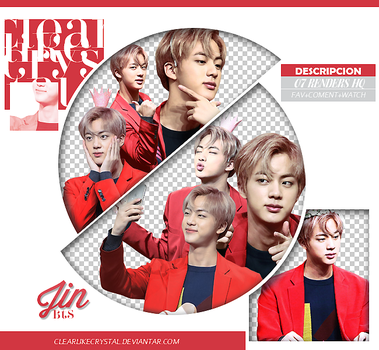 #086 | Pack PNG | Jin | BTS by jellycxt