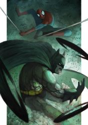 The Bat and the Spider by Ry-Spirit