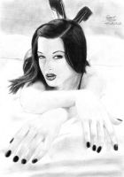 Stoya drawing by caiusaugustus