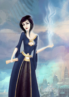 The Summoner of Chimerical Jacqueline Justitia by Jaacqs