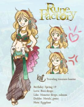 Rune Factory *fart sound* by Passion-Assassin