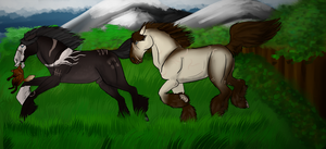 Creature Caper Levi And Kanu by dragonmissy