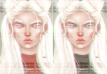Albino by drawingsbygia