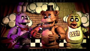 [SFM/FNaF] The Classic Band by FBanimations