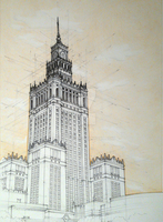 Palace of Culture and Science by Podkowa97