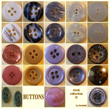 Buttons 9 Collection 2 by Gwathiell