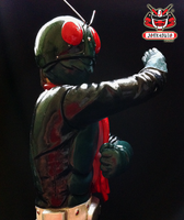 1/6 Kamen Rider No.1 Classic Vinyl Kit Painted 05 by wongjoe82