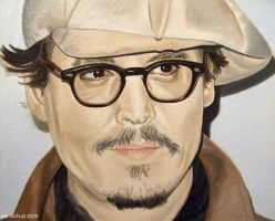 Johnny Depp - Paris 2011 - 2 by shaman-art