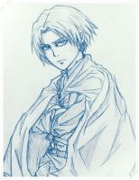 Captain Rivaille/Levi by quick-witted