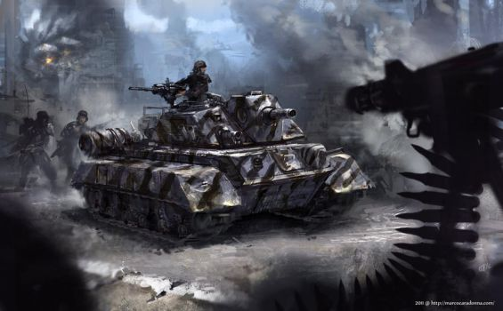 Tank by Ming1918