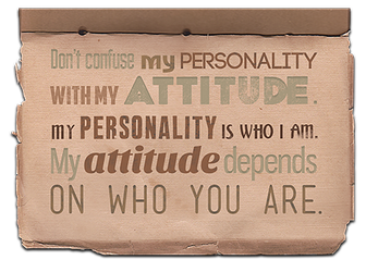 Personality by IllicitWriter