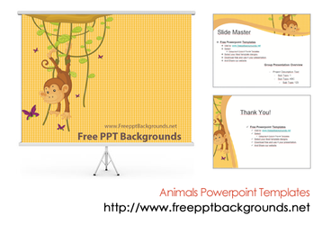 Animal Powerpoint Templates by ppttemplates