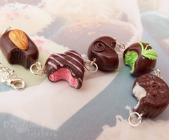 Chocolate Truffles Bracelet by DeliciousTrickery