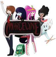 Marceline and the scream queens by Nerdobot