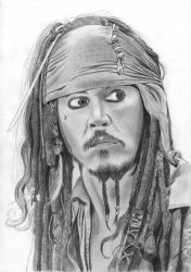 Jack Sparrow OST face by elodie50a